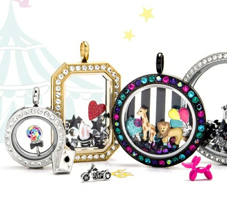 Origami Owl new fall 2017 collection. Lots of colors, lockets, charms, circus, candy, sparkles carlascales.origamiowl.com