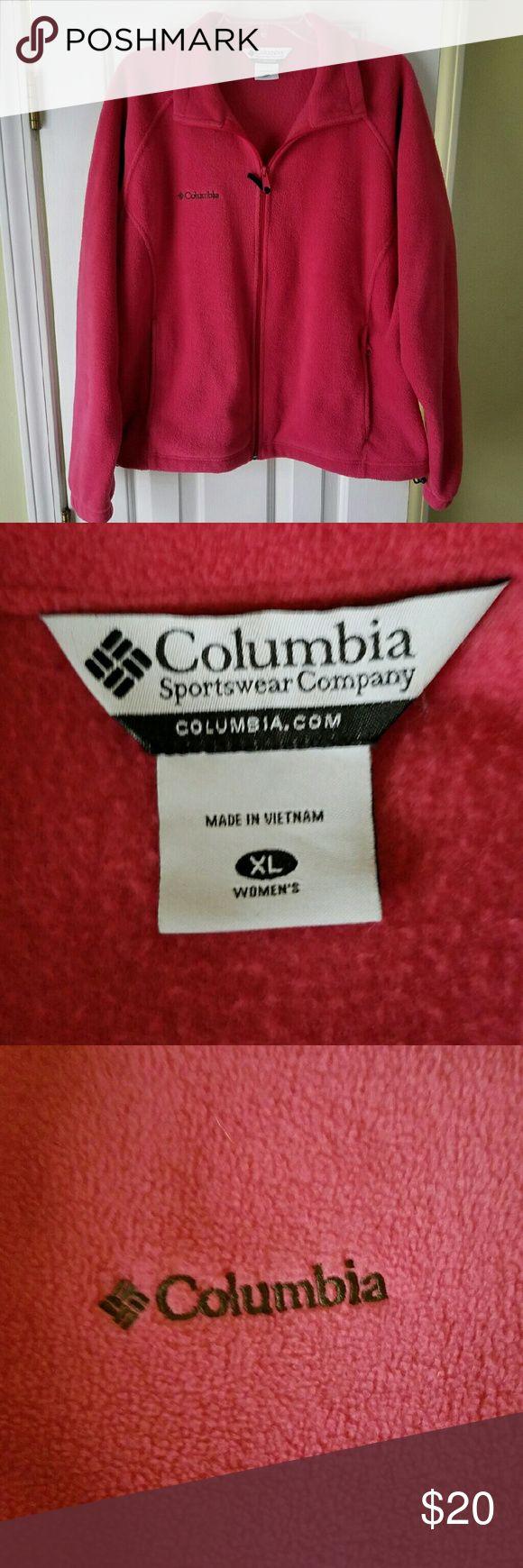 Columbia jacket Columbia jacket pink only worn twice. Columbia Jackets & Coats