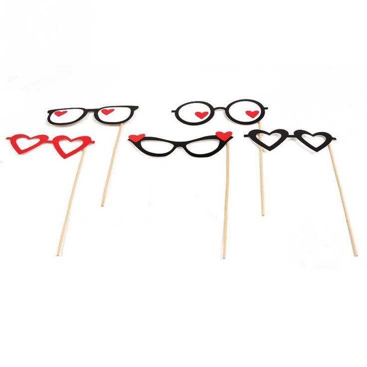 1set / 33pcs Photo Booth Rekwizyty Moustache Miłość Maska na patyku Na Wesele Valentine Favor Gift-In Event & Party dostaw z Dom na Aliexpress.com | Alibaba Group