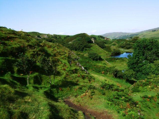 Faerie Glen on the Isle of Skye