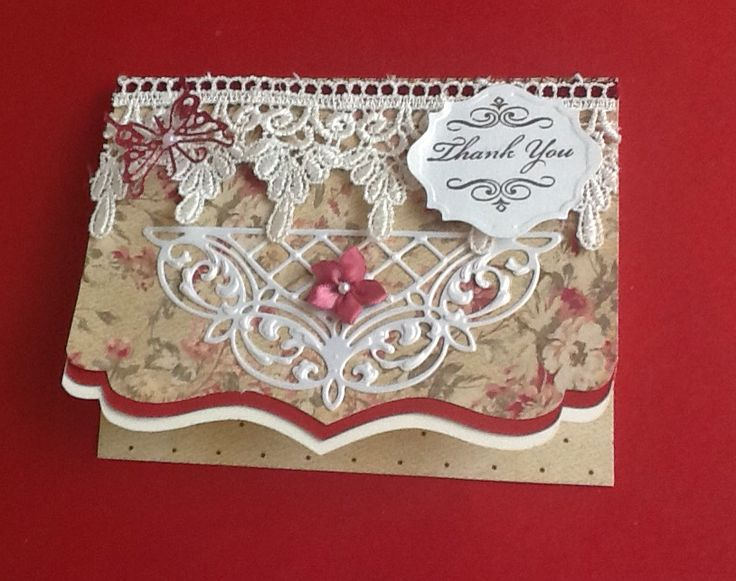 Sizzix bracket card