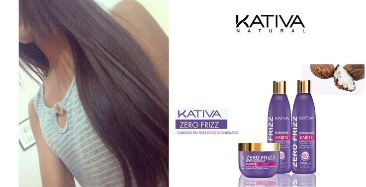 Θεϊκά μαλλιά με τις σειρές περιποίησης Kativa Natural. Kativa Zero Frizz. Το Zero Frizz με Shea Butter είναι ένα φυσικό ενυδατικό προϊόν κατασκευασμένο από καρύδια που φυτρώνουν στα δέντρα στην Αφρική ή γνωστό ως Shea Butter. Μέσα σε πολύ σύντομο χρονικό διάστημα θα πείτε αντίο για πάντα στο φριζάρισμα. Οί δικές σας φωτογραφίες! 