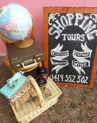 Shopping Tours with Duchess Di Dee Margaret River,WA. Vintage,Gourmet,Scenic,Wineries. dianed@westnet.com.au  or 0419 552302