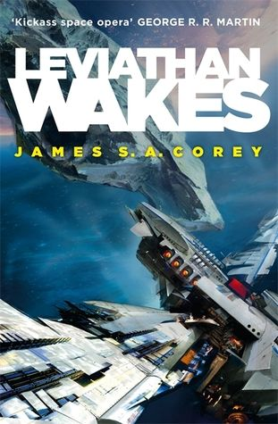 Leviathan Wakes (The Expanse #1) by James S.A. Corey -   Humanity has colonized the solar system - Mars, the Moon, the Asteroid Belt and beyond - but the stars are still out of our reach.  Jim Holden is XO of an ice miner making runs from the rings of Saturn to the mining stations of the Belt. When he and his crew stumble upon a derelict ship, the Scopuli, they find themselves in possession of a secret they never wanted. A secret that someone is willing to kill for -....