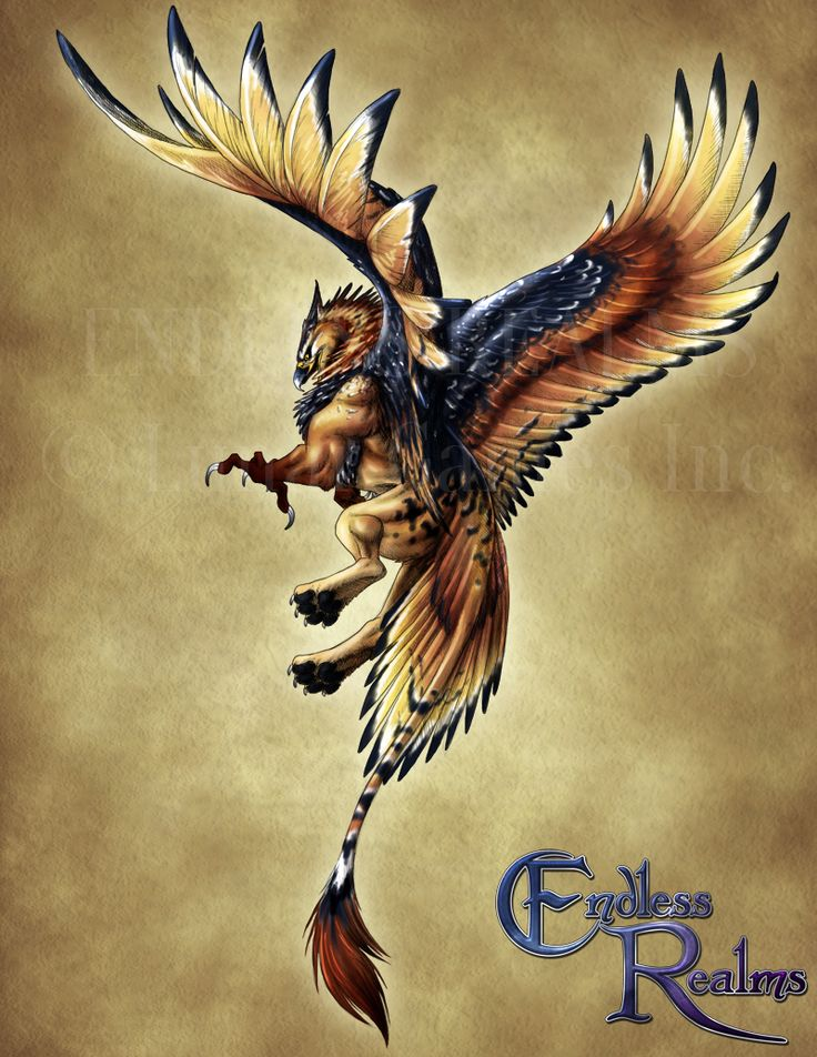 Endless Realms bestiary - Griffon by jocarra.deviantart.com on @DeviantArt