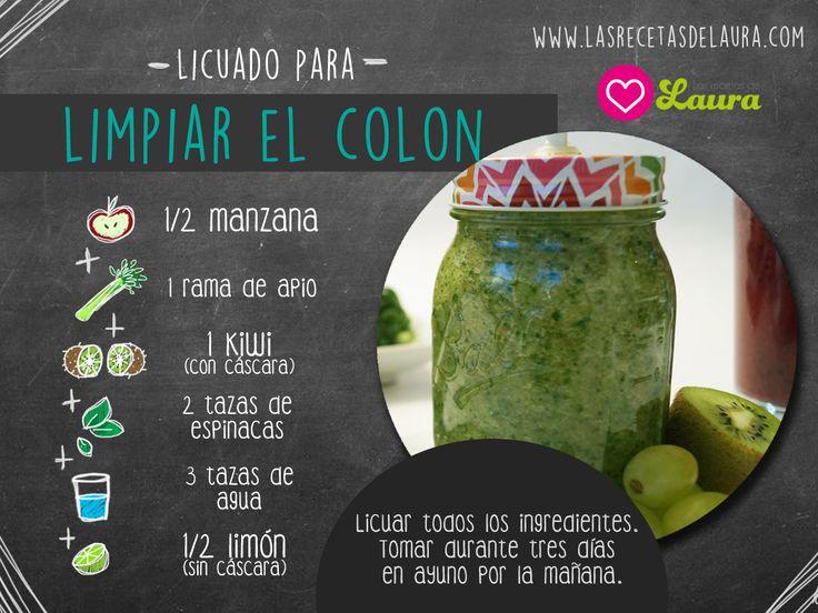 Receta de jugo verde para limpiar y purificar, hecho con frutas, fácil y delicioso, un desayuno saludable lleno de nutrientes.
