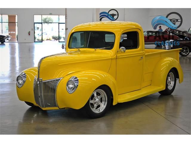 Custom Hot Rod Designs 1940 Ford Pickup For Sale On Classiccars