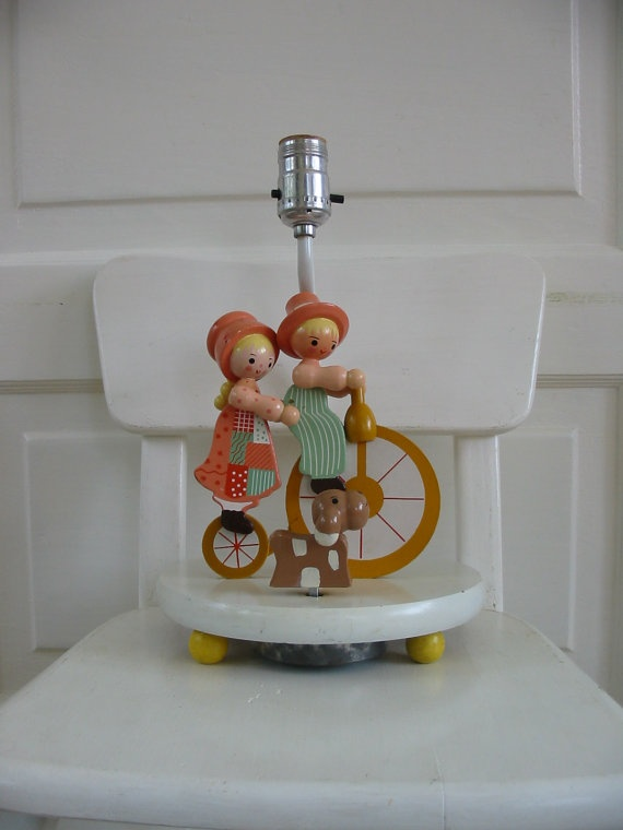 Vintage Irmi Children's Lamp