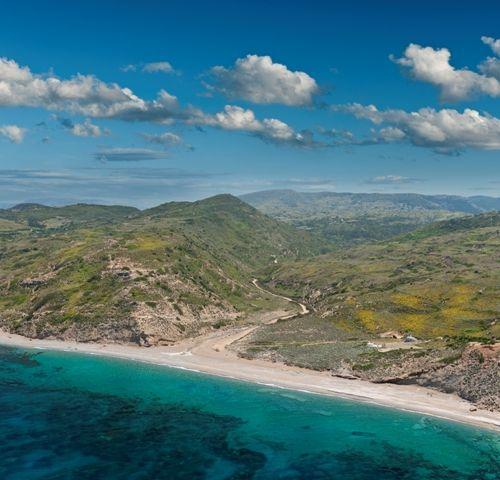 VISIT GREECE| Kareflou beach on #Skyros #islands #Sporades #Greece #greekphotos