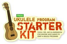 Ukulele in the Classroom- free downloads and starter kit