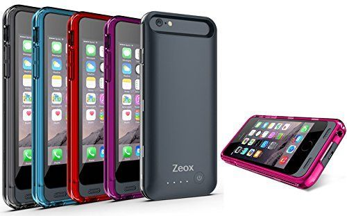 Buy Zeox iPhone 6 Battery Case (4.7 Inches) - 3100mAh External Protective iPhone 6 Charger Case. (4.7 Inches) http://phonecasesfromthebest.com/iphone-6-cases/