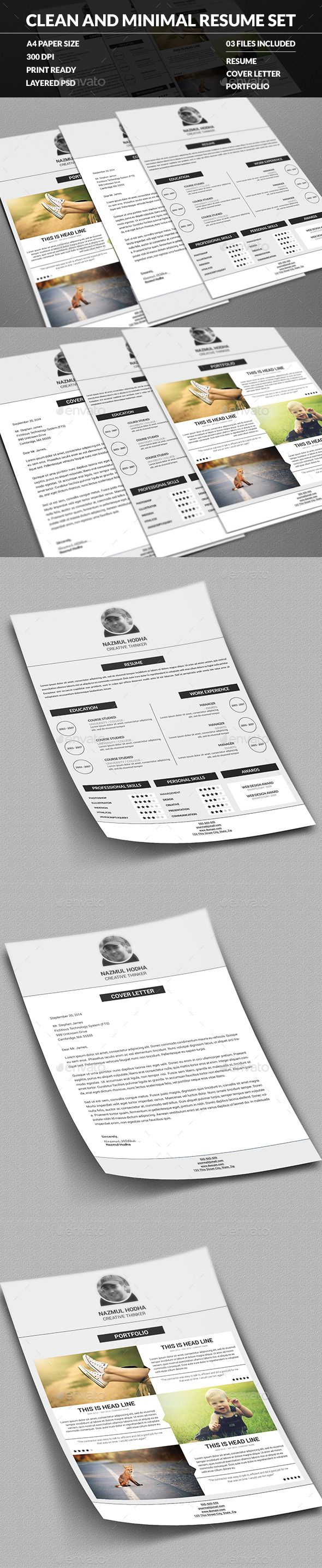 18 Best Cool Resumes Images On Pinterest Design Resume Design