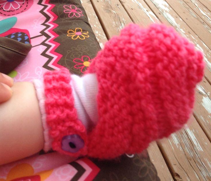 Chaussons pour bébés!
