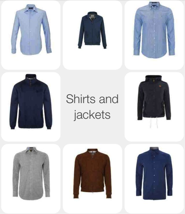 Shirts and jackets | Shareight