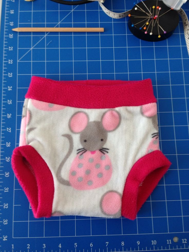 Night nappy cover for Charlotte and her modern cloth nappies
