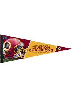 Redskins 2012 NFC East Champions Pennant