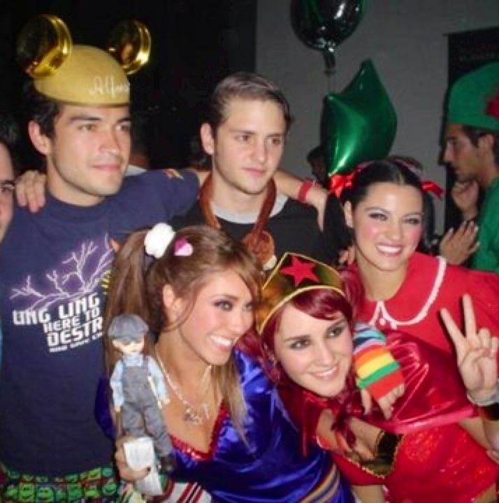 #RBD #Poncho #Christopher #Anahi #Maite #Dulce #fantasias