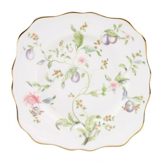 Wedgwood Sweet Plum Square Dessert Plate 21cm | Wedgwood GB - Wedgwood® Official UK Site