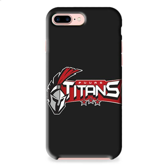 Puurs Titans Logo Grey iPhone 7 3D Case Dewantary