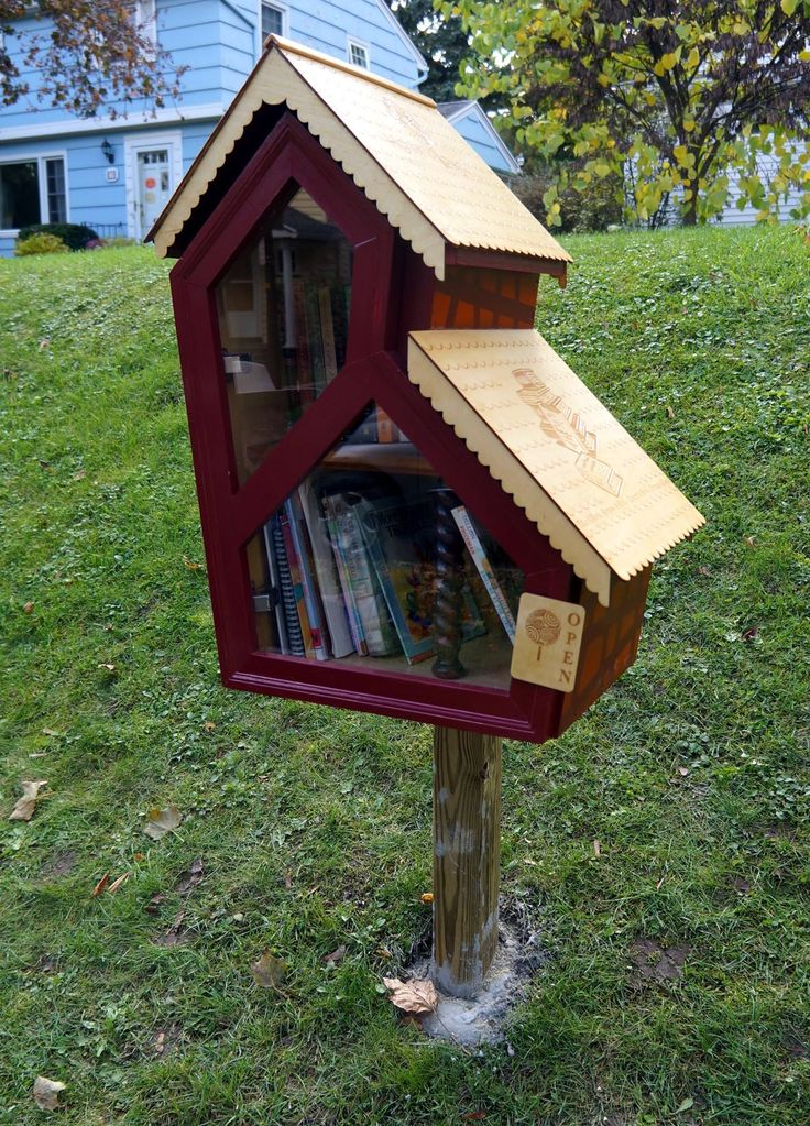 Little Free Library in Rochester, NY