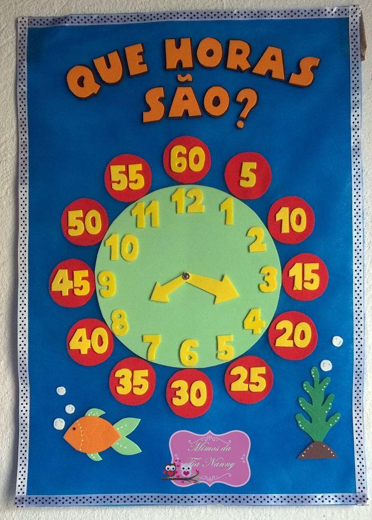 Relógio articulado em tnt e decorado em EVA https://www.elo7.com.br/relogio-escolar-articulado/dp/931B88#smsm=0&df=d&rps=0&ucf=1&ucrq=1&uss=1&sac=0&uso=d&usf=1