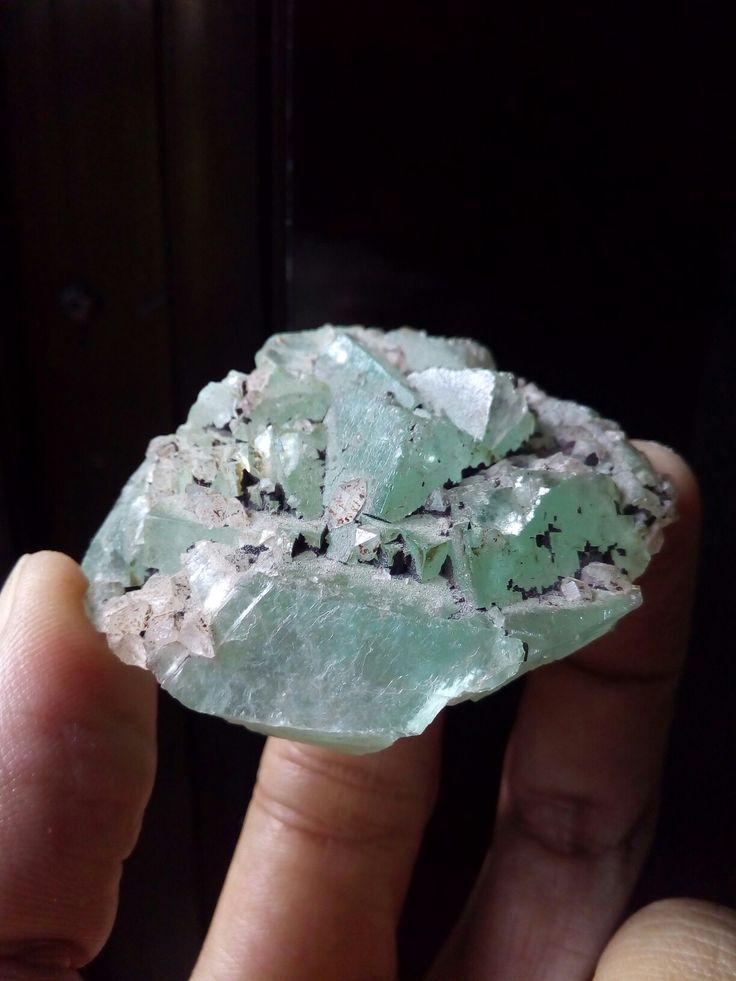 Green Apophyllite Crystal