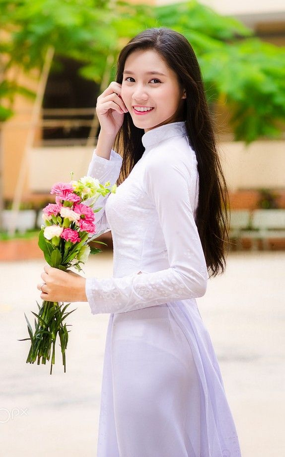 1573 best womens fashion images on pinterest asian woman ao dai nguyen ngoc bao nhu by nguyen hoang thanh on ccuart Image collections