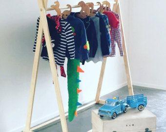 Pino macizo estante de la ropa, un marco de ropa estante, estante de la ropa, estante de la ropa, Perchero madera, respetuoso del medio ambiente, mercado pantalla