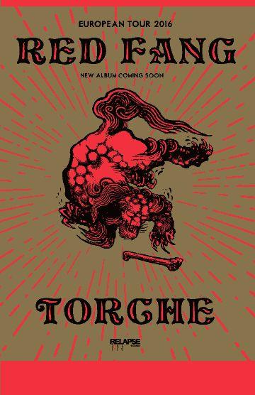 GoRockfest.Com: Red Fang Tour Dates 2016