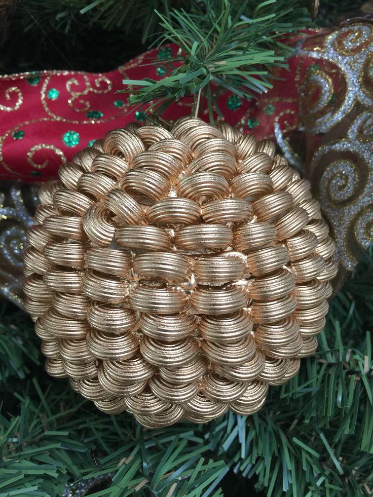 Esfera de navidad con pasta de coditos esferas e ideas - Esferas de navidad ...