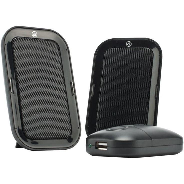 DIGITAL INNOVATIONS 4330300 AcoustiX(TM) Portable Speaker System 2.0 USB Travel Speakers