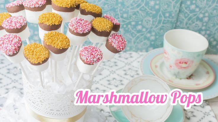 pops o malvaviscos 7 mesa dulce para baby shower quiero