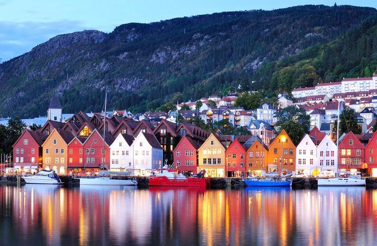 Descubre los maravillosos pueblos que los Fiordos Noruegos ofrecen a sus visitantes