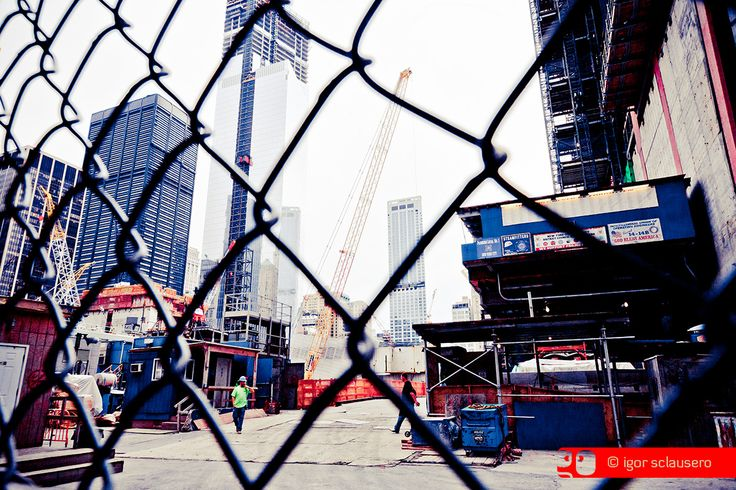 world trade grid  © Igor Sclausero #manhattan #newyork