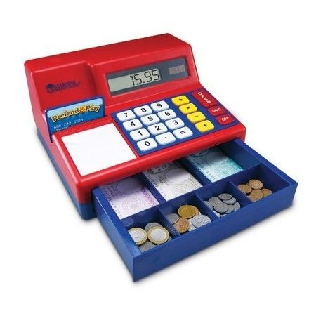 Learning Resources Teaching Cash Register and Plastic Money from BrightMinds