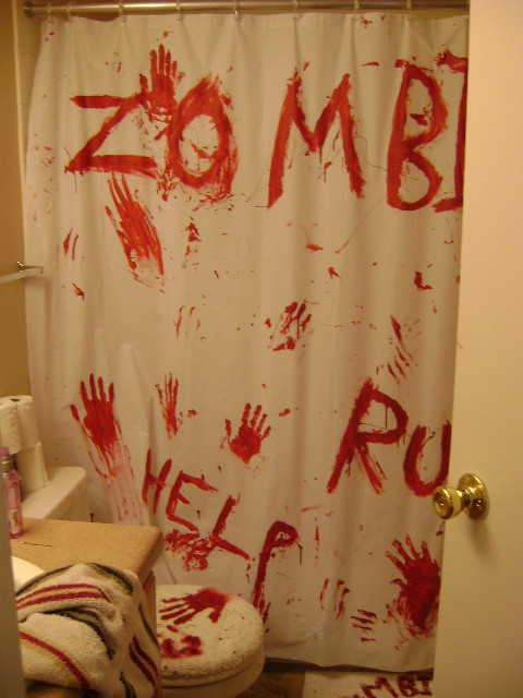 the world's catalog of ideas, zombie bathroom set