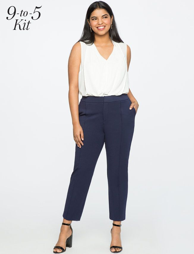 3b4d8c6e7fe View our 9-to-5 Stretch Work Pant and shop our selection of plus size  designer women s Pants