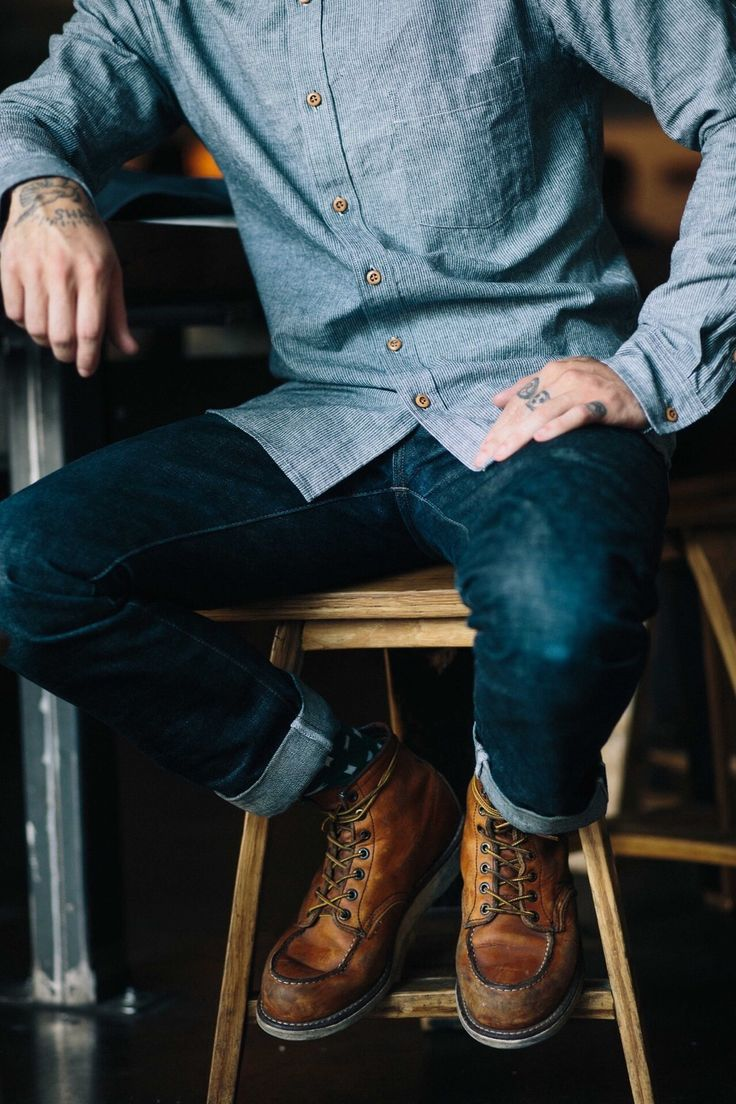 You can look good with denim on denim, you just need confidence. Check out our collection of double jean looks to get inspiration for this particular style.