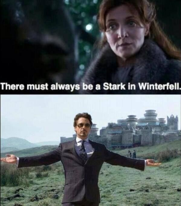 Maybe if they had RDJ watching the place Theon wouldn't have been able to waltz in and take it with 20 men. #justsayin<--