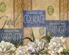 Bucilla ® Counted Cross Stitch - Picture Kits - Serenity, Courage, Strength