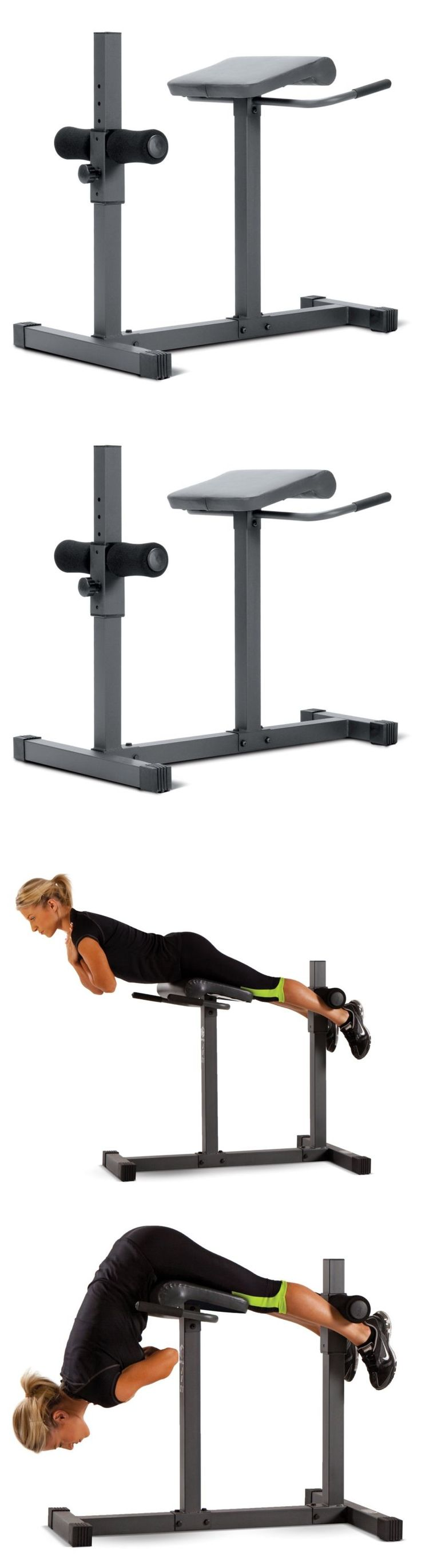 Abdominal Exercisers 15274: Marcy Roman Chair Hyperextension Bench -> BUY IT NOW ONLY: $111.35 on eBay!
