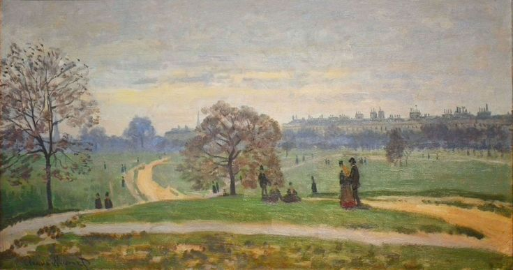 Hyde Park, 1871 - Claude Monet