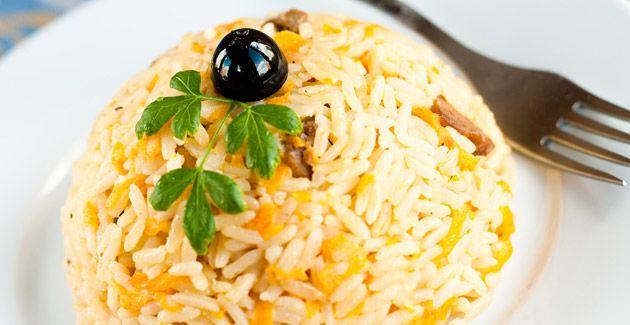 Turkish Rice Pilaf: A traditional Turkish side dish #ATasteOf