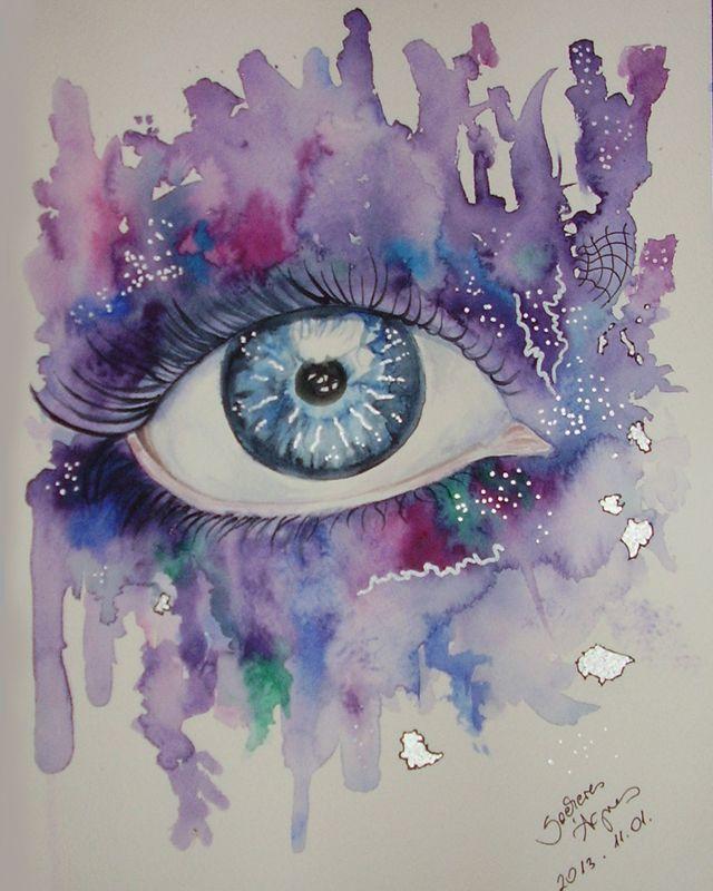 eye II. - mixed techniques