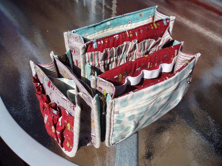 Hilde Quilt . Porta Pockets Plus