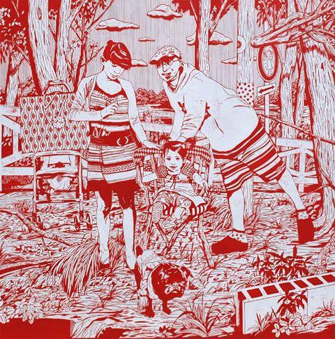 Kenichi Yokono <-- 1972 Born in Kanazawa, Ishikawa, Japan; Studied Art at Kanazawa College of Art; Lives and works in Tokyo.