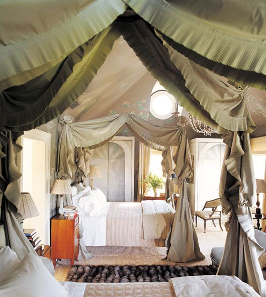 Beautiful Tent Bedroom #6 - Tent-like Canopies Who Doesnu0027t Like Tents Or Canopies? They Always Mean