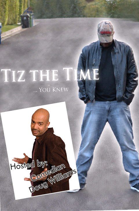 "@tizthetime : I am PLEASED and HONORED to announce that Comedian Doug Williams has signed on to HOST my One Man Show ""TizTheTime...You Knew"". You know him from hosting the late-night stand-up comedy show on the STARZ Network, ""Martin Lawrence Presents 1st Amendment Stand Up"" He Has also been a favorite on BET's, ""Comic View"" and ""It's Showtime at The Apollo"" follow him on instagram and twitter @mrdouglaswilliams"