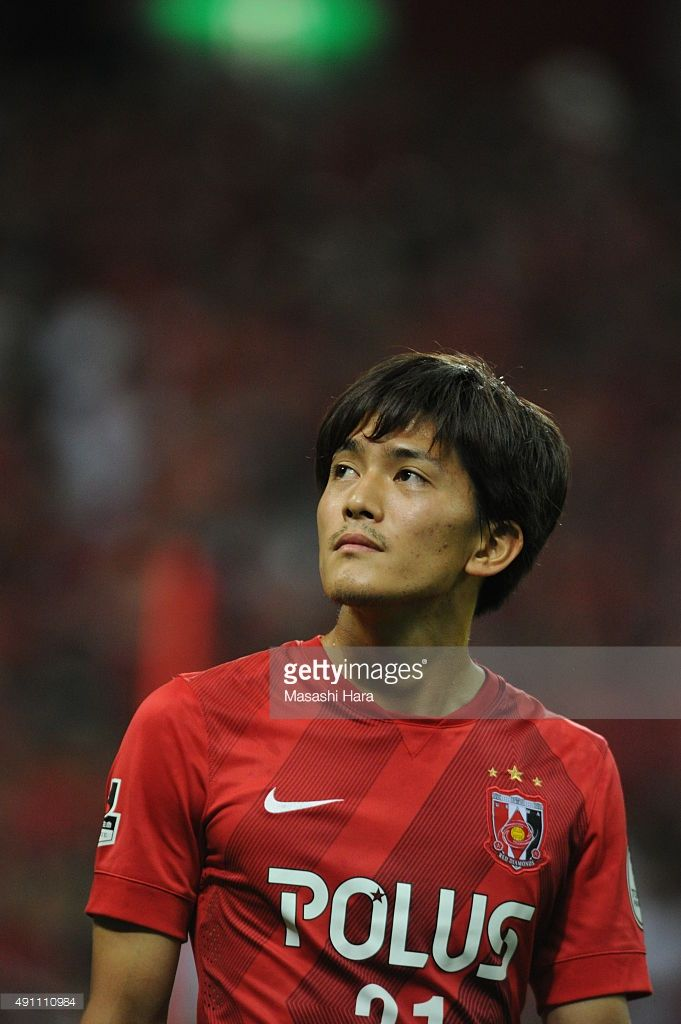 Toshiyuki Takagi of Urawa Red Diamonds looks on after the J.League match between Urawa Red Diamonds and Sagan Tosu at Saitama Stadium 2002 on October 3, 2015 in Saitama, Japan.