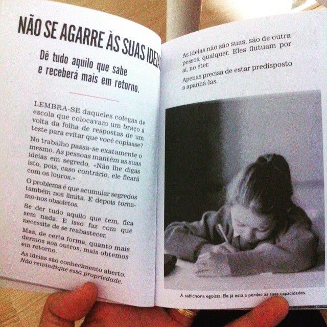 Ideias. #paularden #ideas #book #quote